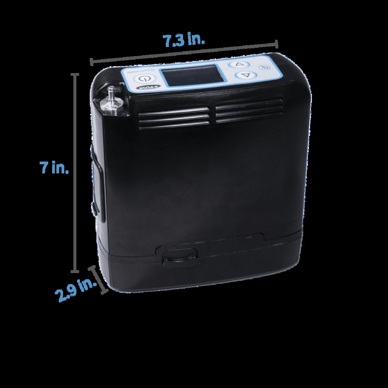 Belluscura X-PLO2R Portable Oxygen Concentrator