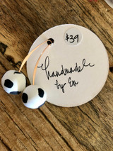 Handmade By Em Drop Earrings Dalmation