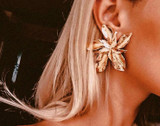 Little Bird Designs Gisele Flower Earrings