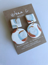 Urban C Designs Handmade Earrings Blue Hues