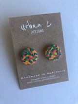 Urban C Designs Handmade Earrings Multi Stud