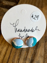 Handmade By Em Stud Earrings Ocean Dreaming