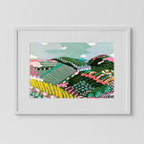 CHRISTABEL H. ART - Scenic Rim Print Framed