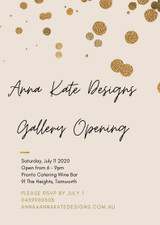 Anna Kate Designs Gallery Opening Night