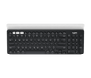 Logitech K780 Multi-Device Wireless Keyboard for Computer, Phone and Tablet – Logitech Flow Cross-Computer Control Compatible – Speckles