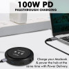 All-in-One USB-C™ Hub with 100W Power Delivery & 10W Qi Wireless Charger