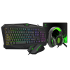 T-DAGGER T-TGS003 Mouse/ Keyboard/Mousepad/Headset 4 IN 1 Gaming Combo Set Your image was added to the product.