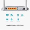 TP-Link 300Mbps Wireless N USB VDSL/ADSL Modem Router | W9970A