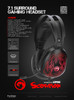 MARVO Headset HG9049 BACKLIT, SURROUND ADVANCED GAMING HEADSET  (PS3, PS4, Xbox One, Xbox 360, Phone)