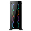 Case ABKONCORE TENGRI 650 Tempered Glass Professional Gaming Series
