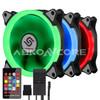 ABKONCORE 3in1 KIT RGB LED Fans SYNC 120F