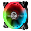 ABKONCORE Fan For Gaming Case 3in1 KIT SINGLE RING SPECTRUM +CONTROL HUB+ REMOTE