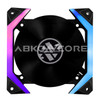 ABKONCORE  Fan For Gaming Case  3in1 KIT SPIDER SPECTRUM +CONTROL HUB+ REMOTE