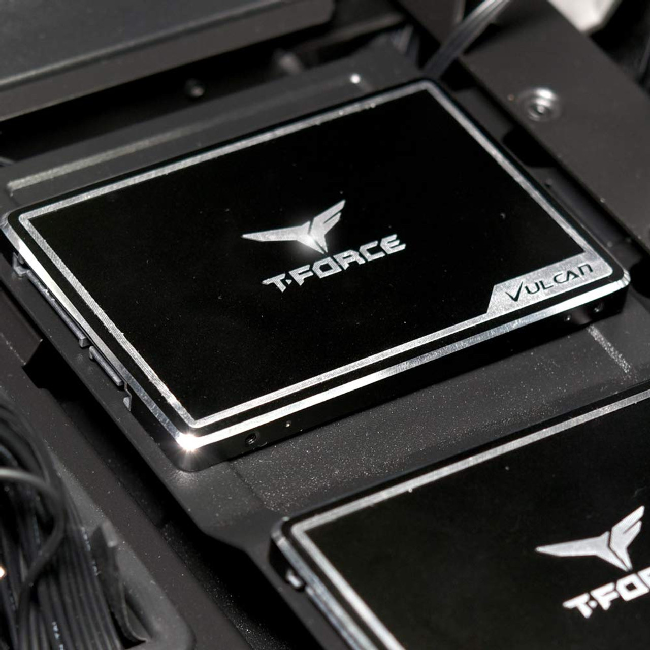 TEAMGROUP T-Force Vulcan 250GB 2.5 inch SATA III 3D NAND Internal Solid State Drive SSD - T253TV250G3C301