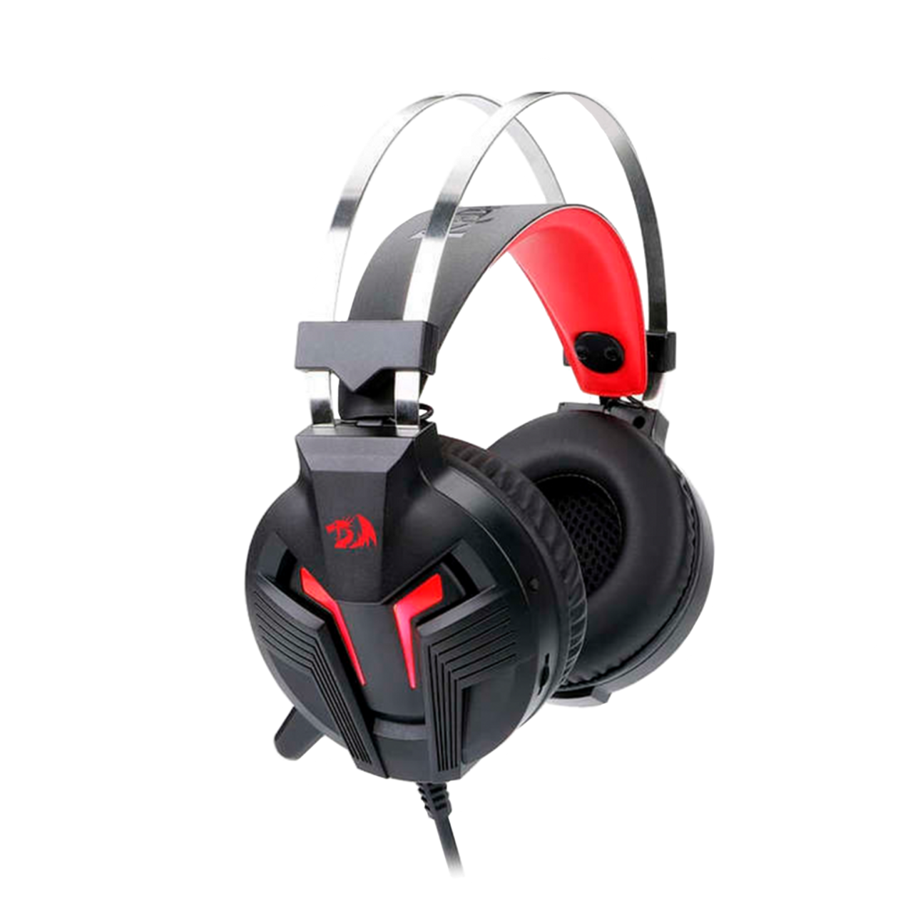 0c7433cbf22d85 H112 GAMING HEADSET WITH MICROPHONE FOR PC, WIRED OVER EAR PC GAMING  HEADPHONES ,WORKS