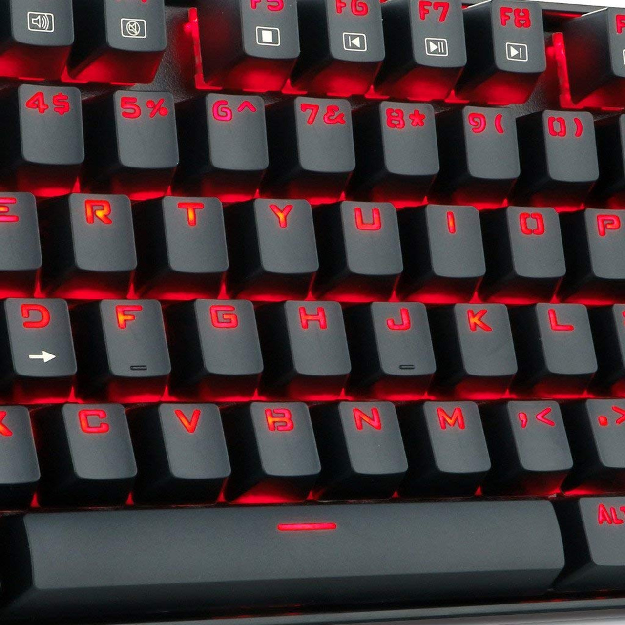 623a53d0cfd Redragon K552-BA Gaming Keyboard and Mouse, Mouse Pad Combo 87 Keys LED  Backlit Mechanical Gaming ...