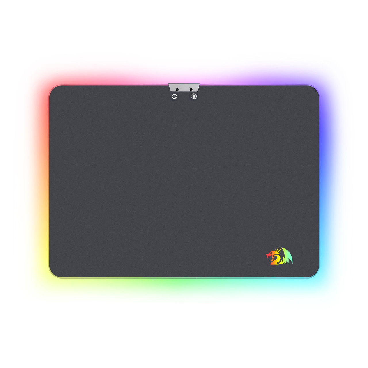 Redragon P010 RGB Mouse Pad, Wired LED Gaming Mouse Pad with 16 8 Million  Colors, Hard Non-Slip Rubber Surface Optimized for All MMO Computer Mouse