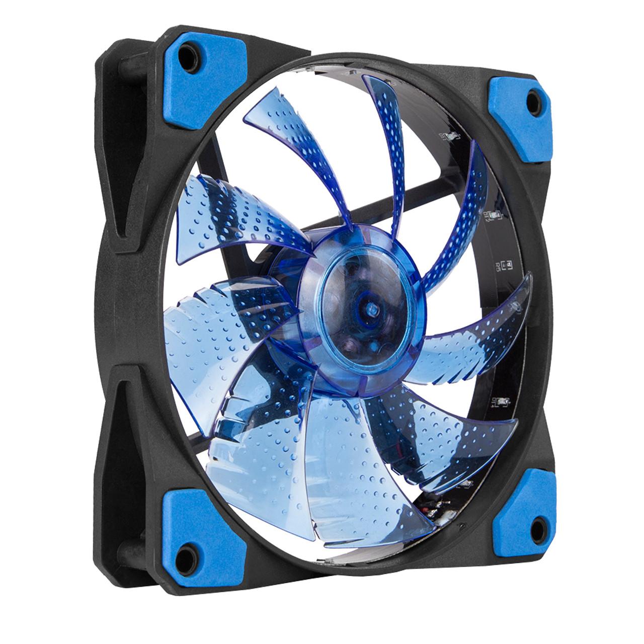 MARVO SCORPION FN10BL BLUE LED BACKLIT 120 MM CASE FAN