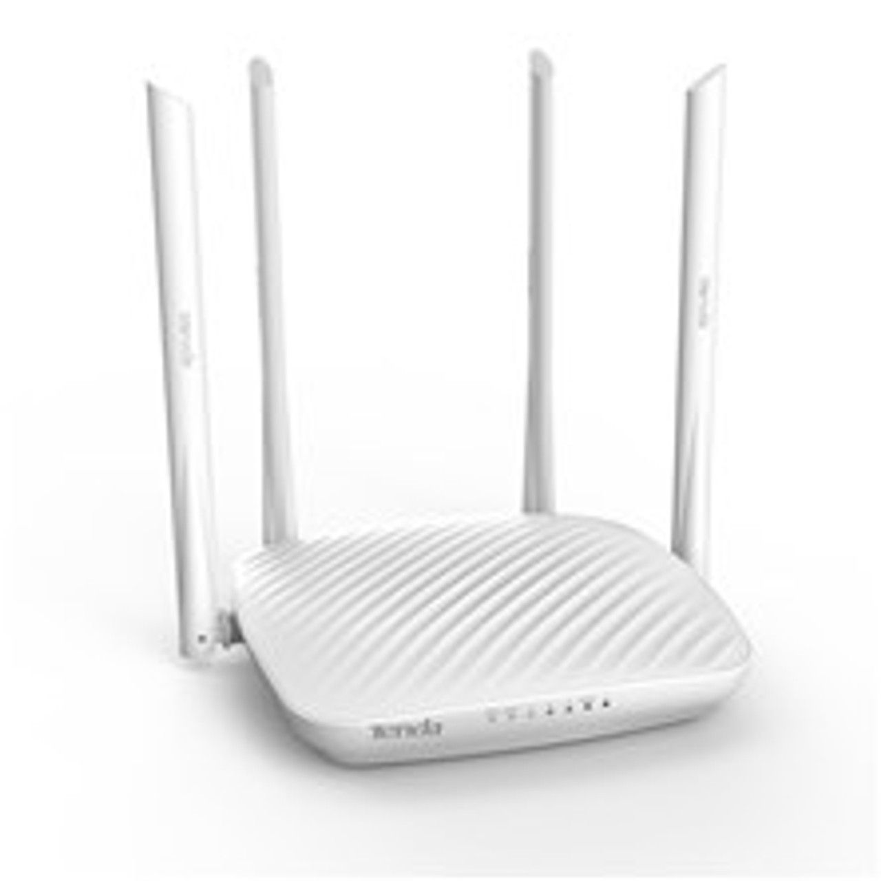 Tenda F9 600Mbps Whole-Home Coverage WiFi Router with 4 x 6dBi High-gain Omnidirectional Antennas/Beamforming+/Easy Setup/App Control (F9)