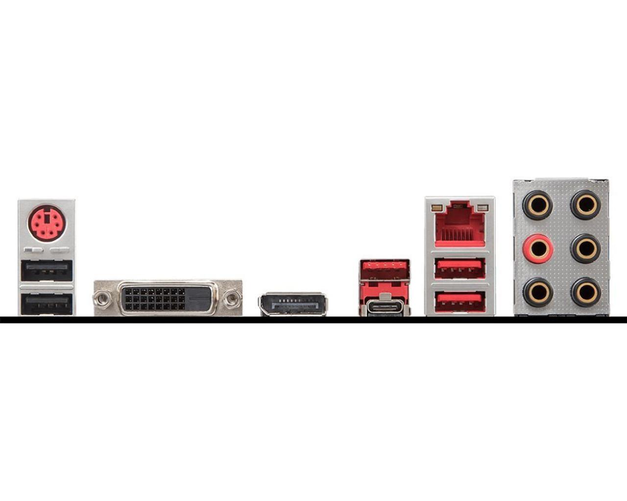 Motherboard MSI Performance Gaming Intel Coffee Lake B360 LGA 1151 DDR4 Onboard Graphics CFX ATX Motherboard (B360 Gaming Plus)