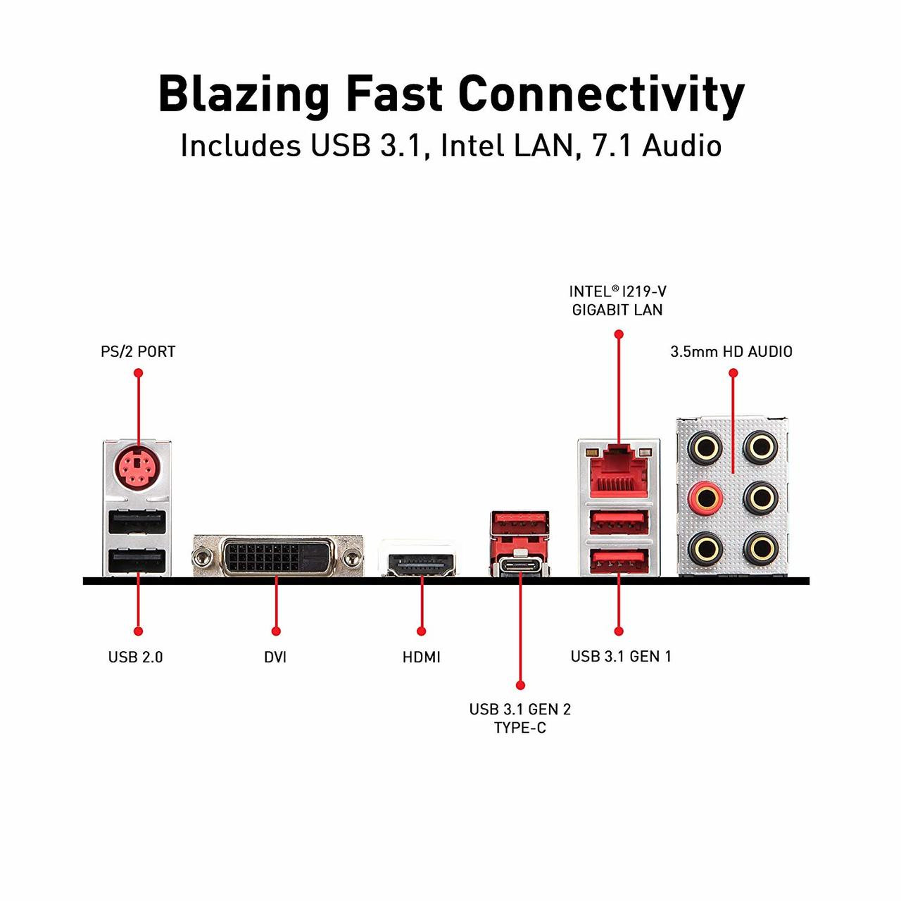 Motherboard MSI Z390 GAMING PLUS 911-7B51-011