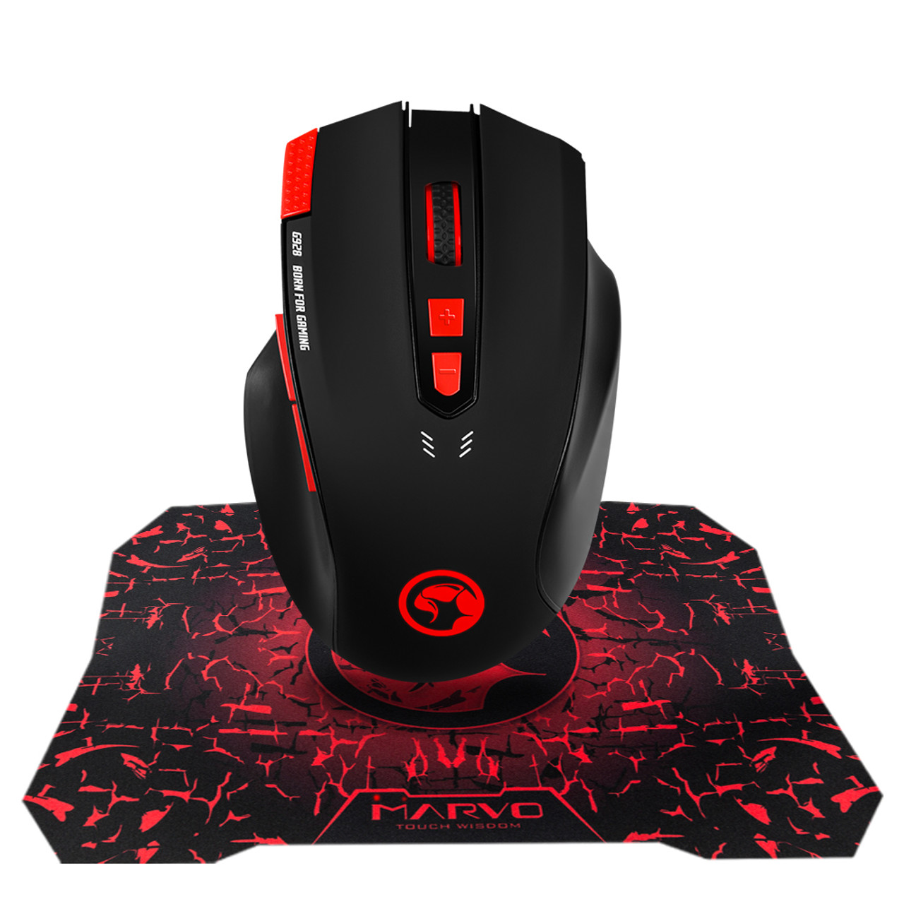 MARVO SCORPION G928+G1  MOUSE & MOUSEPAD ADVANCED GAMING COMBO