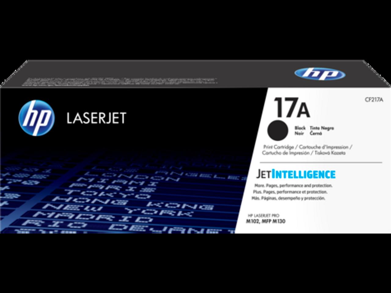 TONER HP 17A Black Original LaserJet Toner Cartridge (CF217A)
