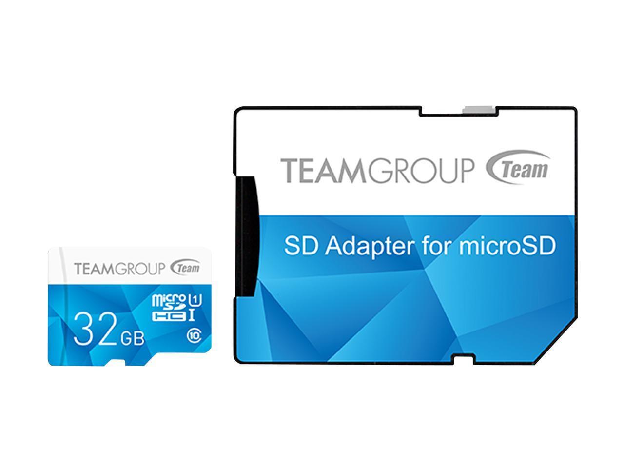 TEAM GROUP Color Card I UHS-I U3 MicroSD CARD 128GB, 64GB, 32GB, 16GB up to 90MB/s