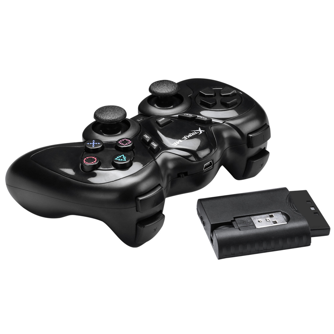Xtrike GP-42 2 4GHZ WIRELESS GAMEPAD Compatibility: PS2, PS3, PC360, Android