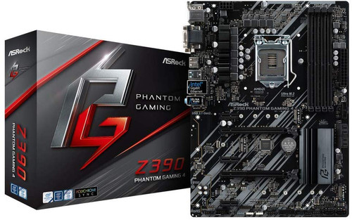ASRock Z390 Phantom Gaming 4 LGA 1151 (300 Series) Intel Z390 SATA 6Gb/s ATX Intel Motherboard