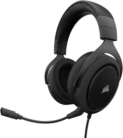 Corsair CA-9011170-NA Hs50 Stereo Gaming Headset, Carbon