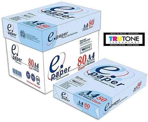 E-paper premium multi-purpose Printing paper (A4) - 1 RIM (500 sheets)- white
