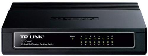 TPLINK 16-Port 10/100Mbps Desktop Switch TL-SD1016D