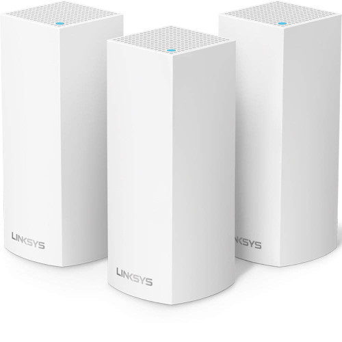 Linksys Whw0303 Velop Whole Home Mesh Wi-Fi System Router, White, Pack Of 3, 3-Pack