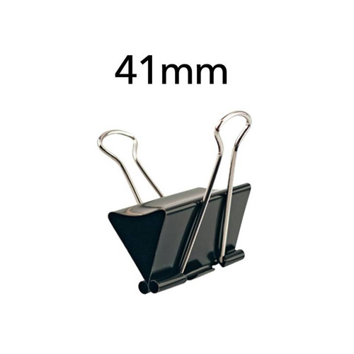 "Dingli Premium Binder Clips 41mm 1-5/8"" 12pcs/box"