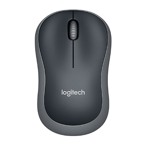 Logitech Wireless Mouse M186 - Swift Gray 1000(dpi) 2.4GHz