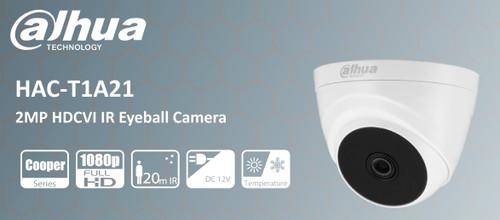 Dahua HAC-T1A21P 2MP HDCVI IR Eyeball Camer
