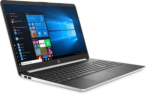 "New 2020 LAPTOP HP 15.6"" HD Touchscreen Laptop Intel Core i7-1065G7 8GB DDR4 RAM 512GB SSD HDMI 802.11b/g/n/ac Windows 10 Silver 15-dy1771m"