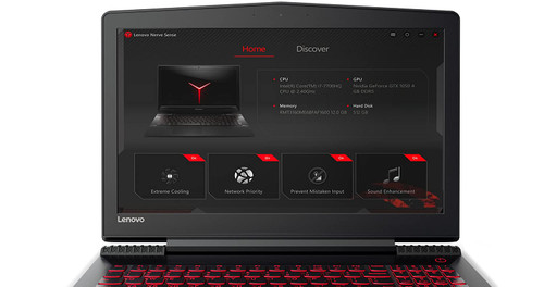 Lenovo Legion Y520 15.6 inch FHD Gaming Laptop Computer (Intel Core i7-7700HQ Processor, NVIDIA GeForce GTX 1060 Graphics, 8GB DDR4 / No SSD / 1TB 5400 HDD, Windows 10) 80YY0090US