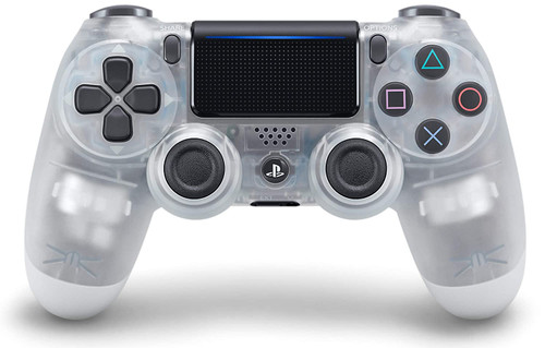 DualShock 4 Wireless Controller for PlayStation 4 - Crystal PS4