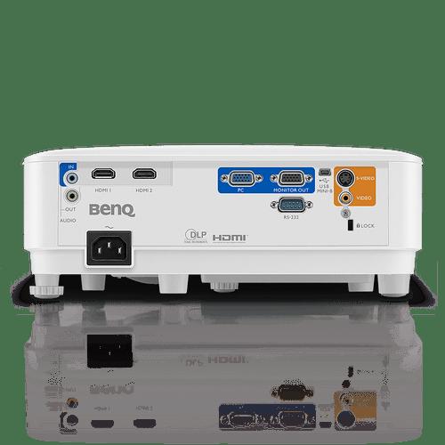 BenQ XGA Business Projector MX550, DLP, 3600 Lumens High Brightness, 20000:1 High Contrast Ratio, Dual HDMI, VGA, Keystone Correction, Simple Setup, SmartEco Technology