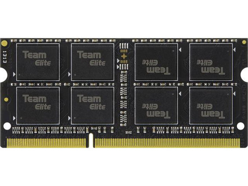 RAM Team Elite 8GB 204-Pin DDR3 SO-DIMM DDR3 1600 (PC3 12800) Memory (Notebook Memory) Model TED3L8G1600C11-S01