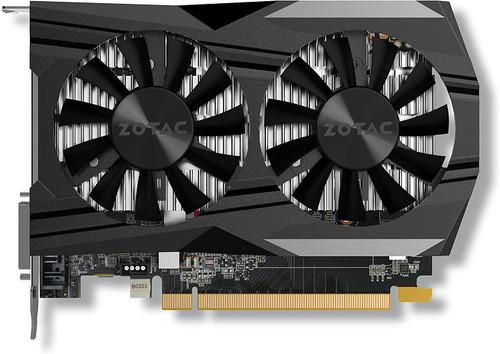VGA ZOTAC GeForce GTX 1050 Ti OC Edition 4GB GDDR5 Super Compact Gaming Graphics Card (ZT-P10510B-10L)