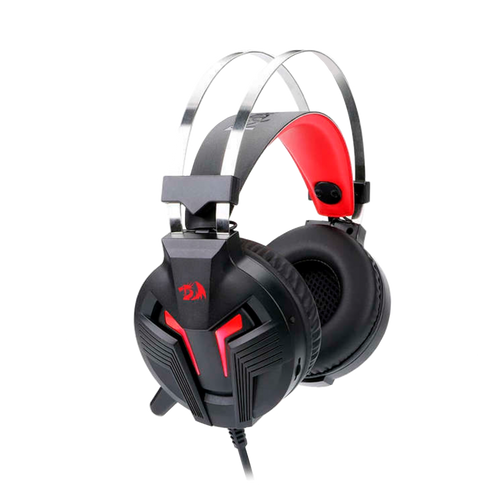 H112 GAMING HEADSET WITH MICROPHONE FOR PC, WIRED OVER EAR PC GAMING HEADPHONES ,WORKS WITH PC, LAPTOP, TABLET, PS4, XBOX ONE