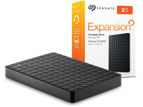 Seagate Expansion 2TB Portable External Hard Drive USB 3.0 (STEA2000400)