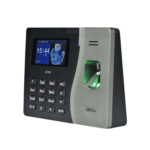 ZKT K14 Time attendance Standalone Fingerprint Reader with Network Capability (RFID access)