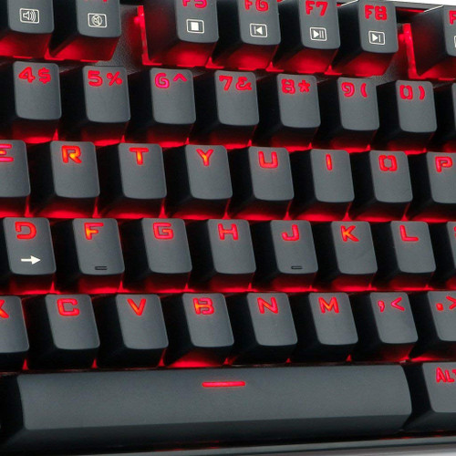 Redragon K552-BA Gaming Keyboard and Mouse, Mouse Pad Combo 87 Keys LED Backlit Mechanical Gaming Keyboard with Blue Switches Gaming Mouse Mouse Pad for Windows PC Games – Keyboard Mouse Pad Set
