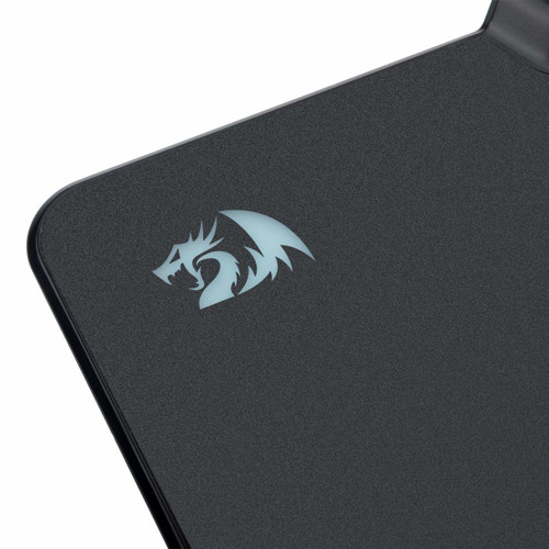 Redragon P009 RGB Mouse Pad, Wired LED Customizable Gaming Mouse Pad with 16.8 Million Colors, Hard Non-Slip Rubber Surface Optimized for All MMO Computer Mouse Sensitivity and Sensors- Large