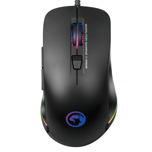 MARVO SCORPION M508 BACKLIT, PROGRAMMABLE GAMING MOUSE