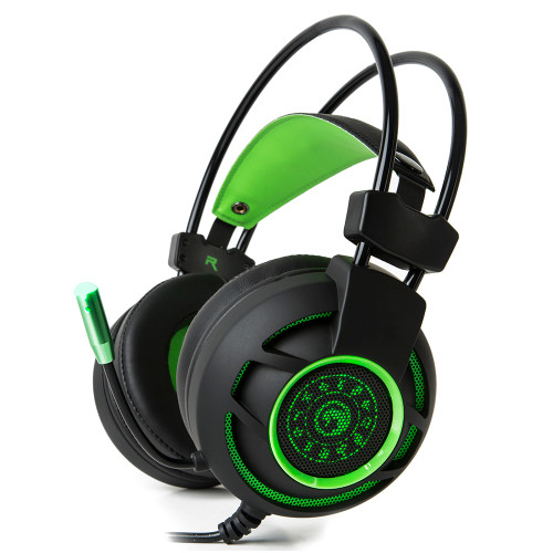 MARVO Headset HG901GN BACKLIT, SURROUND ADVANCED GAMING HEADSET